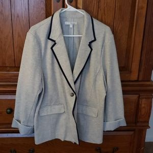 Ellen Tracy grey blazer